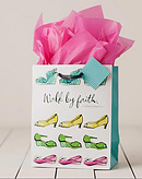 Walk By Faith - Medium Gift Bag