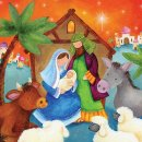 In a Stable Charity Christmas Cards - Pack of 10