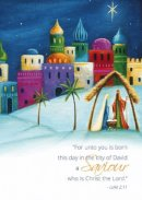 A Saviour Charity Christmas Cards Pack of 10