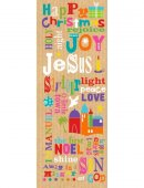 Bright Words Christmas Cards Pack of 10