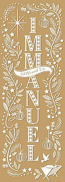 Immanuel Christmas Cards - Pack of 10