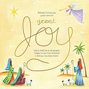 Great Joy Charity Christmas Cards Pack of 10