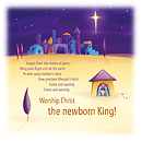 New Born King Charity Christmas Cards Pack of 10