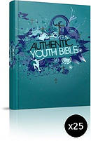 ERV Youth Bible Teal Pack of 25