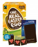 Pack of 6 Dark Real Easter Eggs