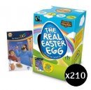 Real Easter Egg (210 Pack) Primary School Whole School Gift Pack
