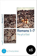 Romans 1-7 : The gift of God Pack of 6