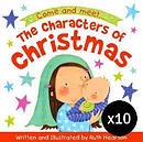 The Characters of Christmas - Pack of 10