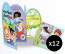 Easter Family Activity Kit with Stickers - Pack of 12