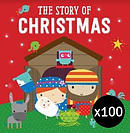 The Story of Christmas pack of 100