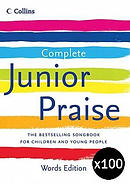 Complete Junior Praise: Words Edition Pack of 100