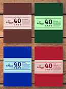 40 Days Prayer Journal Bundle