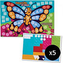 New Life in Jesus Mosaic Sticker Kit - Pack of 5