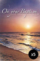 On Your Baptism - Pack of 5 Cards