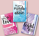 Three Inspirational Notebooks Bundle