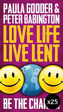 Love Life Live Lent Adult and Youth - Pack of 25