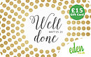 £15 Well Done Gift Card