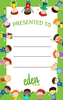 Kids Presentation Labels - Pack of 50