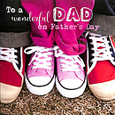 To a Wonderful Dad on Father's Day - Single Card