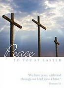 Peace to you at Easter - Pack of 4