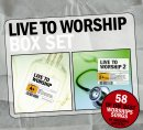 Live To Worship Double Pack 4CD Boxset