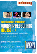 Worship Keyboard Course: Intermediate, Box Set