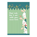 Memo Pad Bunny Friends Isaiah 43