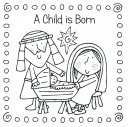 Children's Colouring In Christmas Cards Pack of 20