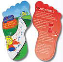 Footprints Bookmark for Children