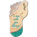 Footprints Pin and Bookmark