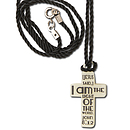Glow in the Dark Cross Necklace