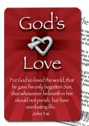 God's Love Witness Pin