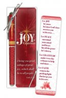 The Joy of Christmas Bookmark and Pen Set