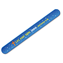 Shine Bright Little Light Silicone Slap Bracelet