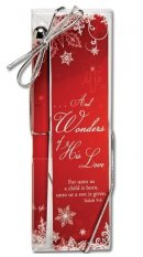 Wonders of His Love Bookmark & Pen Set