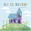 He Is Risen Charity Cards - Tearfund