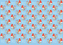Festive Robin Gift Wrap and Tags