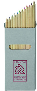 Pack of 12 Coloured TLM Pencils