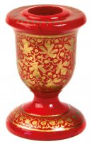 2 Red and Gold Candle Holders