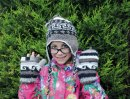 Aztec design Childrens Woollen Hat