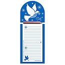 Dove of Peace Notepad and pencil