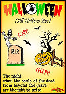 Tracts: Halloween (All Hallows Eve) 50-pack