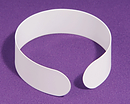 White Clerical Collar - Pack of 4