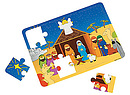Foam Nativity Puzzle - Pack of 12