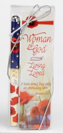 Woman of God Bookmark and Pen Set