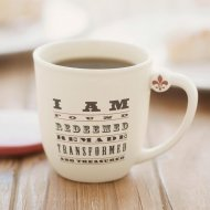 I Am Redeemed Mug and Coaster Set