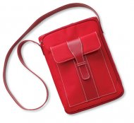 Satchel Style Bible Carrier: Cherry Large