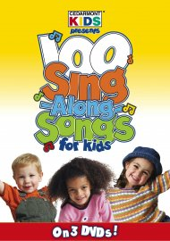 100 Singalong Songs for Kids 3 DVD Pack