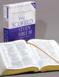 NIV Scofield Study Bible: Large Print, Burgundy, Bonded Leather