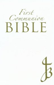 NJB First Communion Bible: White, Bonded Leather